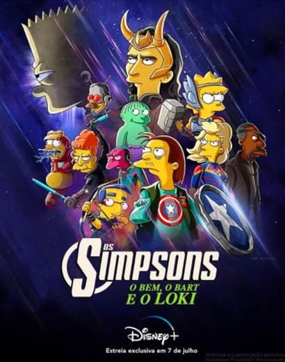 O Bem, o Bart e o Loki | Disney+ anuncia novo curta com estreia em julho 1