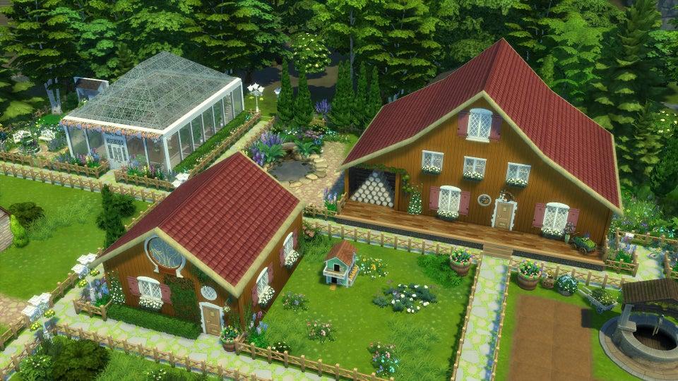 Fã de Stardew Valley recria sua fazenda em The Sims 4 1