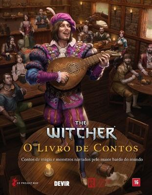 Devir irá lançar The Witcher O Livro de Contos 1