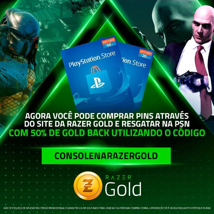 Playstation e Xbox chegam ao Razer Gold 1