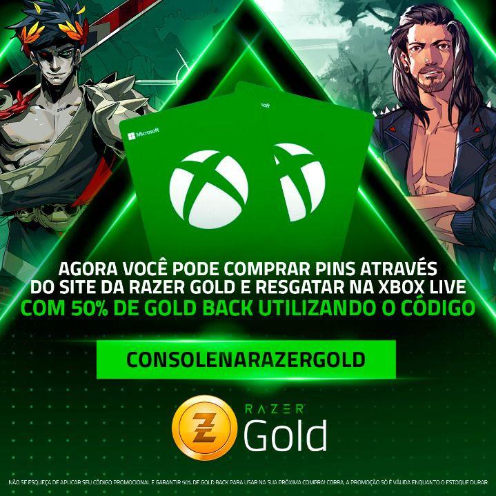Playstation e Xbox chegam ao Razer Gold 2