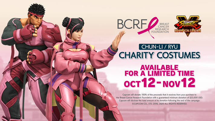 Street Fighter V ajuda na campanha contra o câncer de mama 2